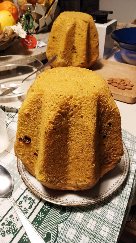 Pandoro senza burro e senza uova